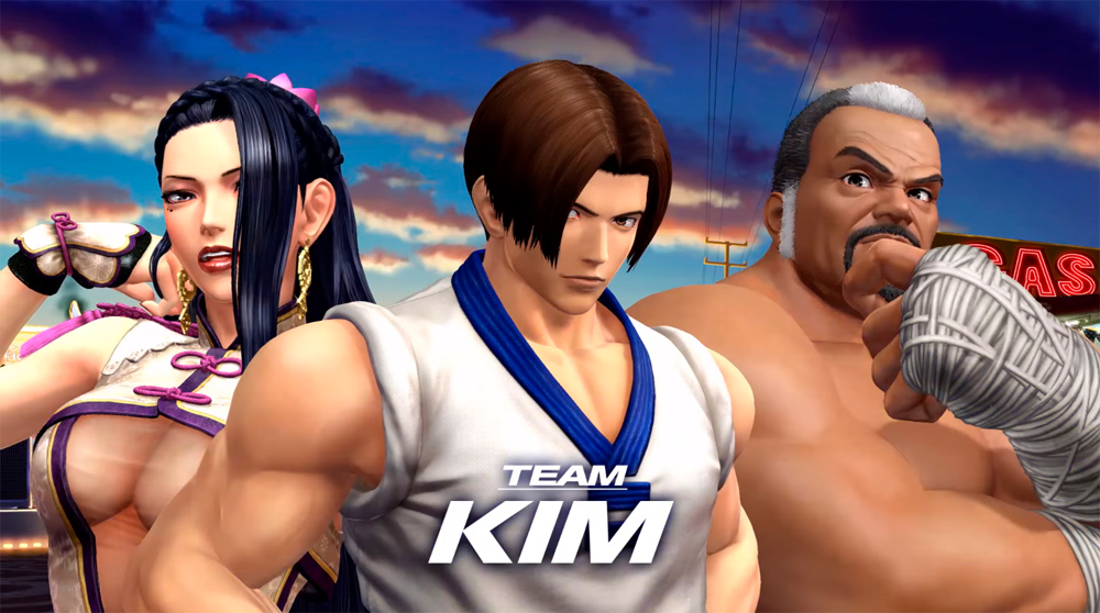Team Kim Gets The Spotlight In This New King Of Fighters XIV Trailer