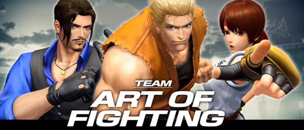 New King Of Fighters XIV Trailer Showcases Art Of Fighting Character Trio