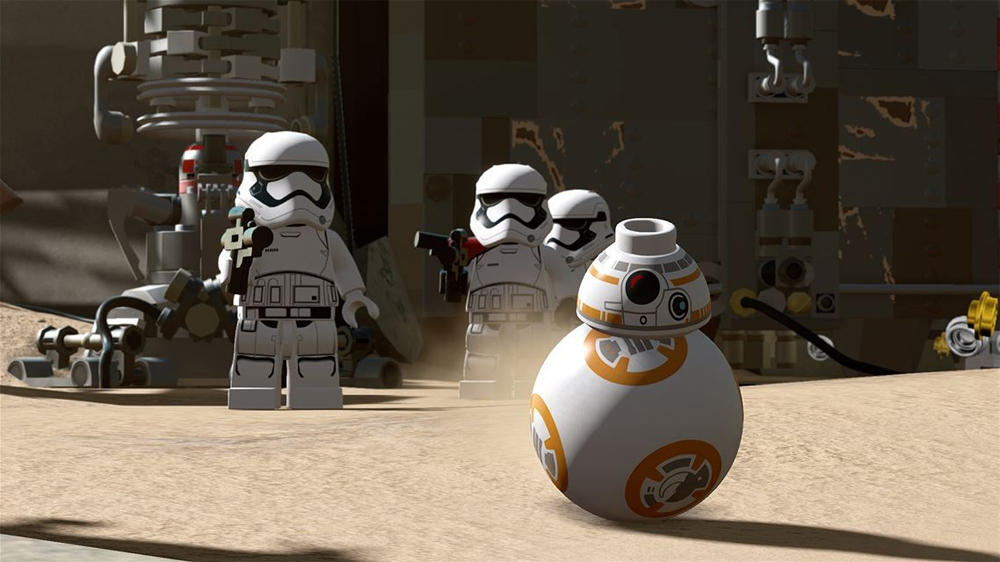 Take A Closer Look At Lego Star Wars The Force Awakens' BB-8