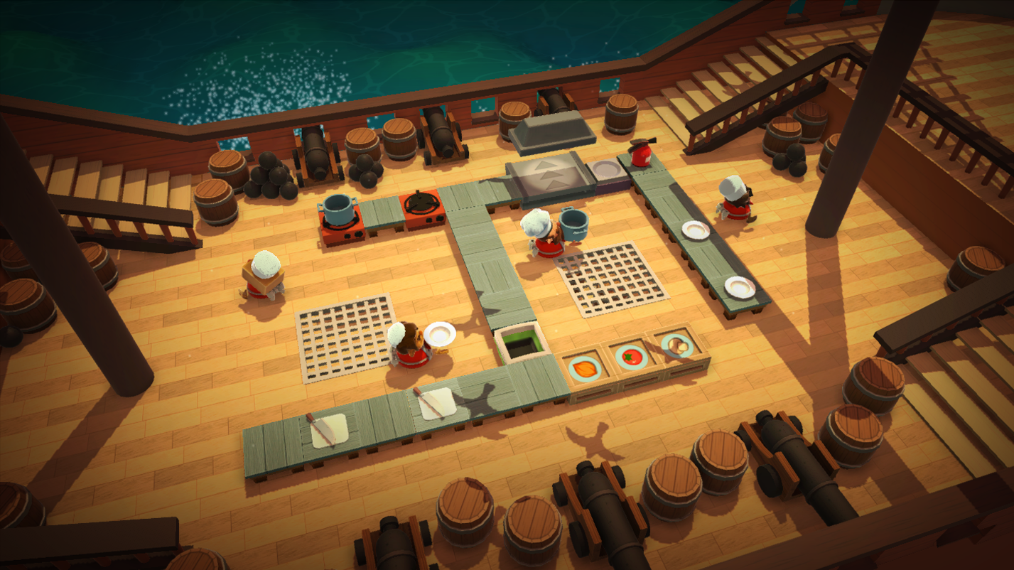 Test Your Virtual Cooking Skills With Overcooked