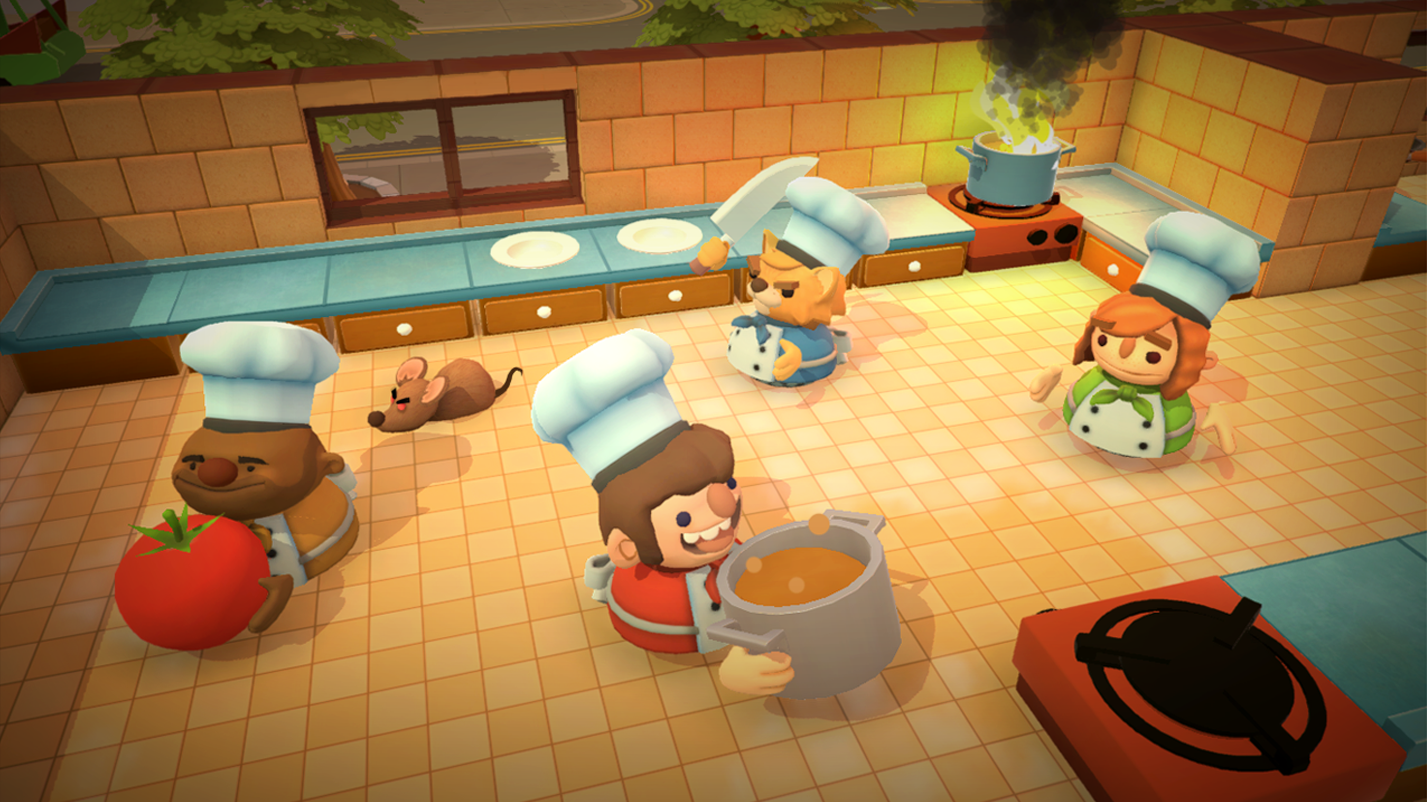 E3 2018 – Overcooked 2 is coming to Switch this August