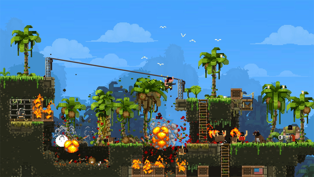 New Broforce Update Brings Three New Soldiers To The Front