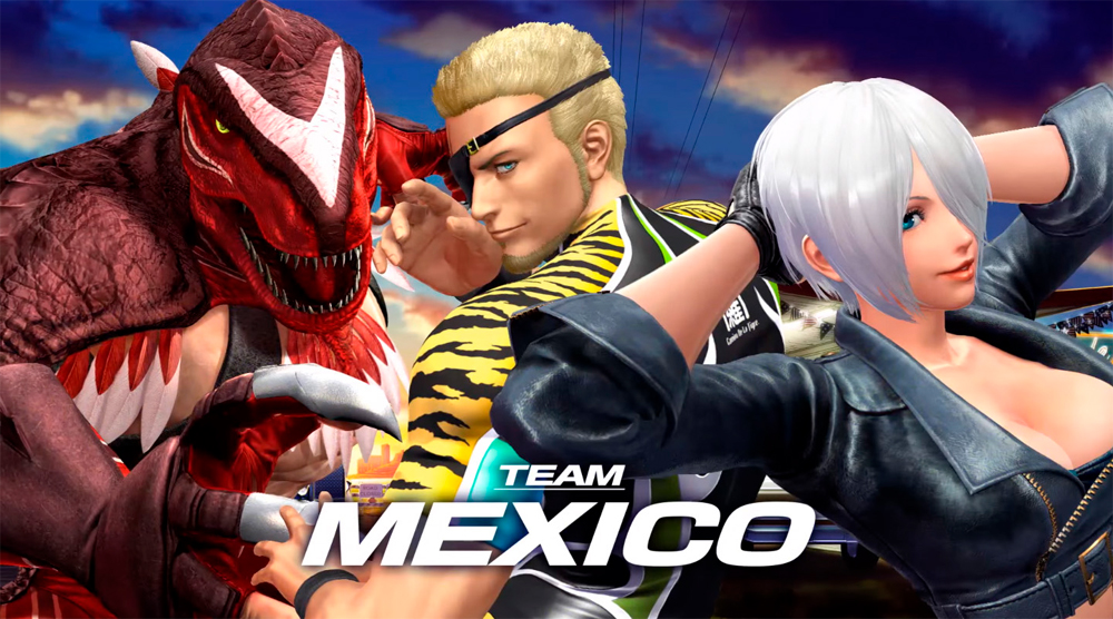 Two New Teams Revealed For King Of Fighters XIV