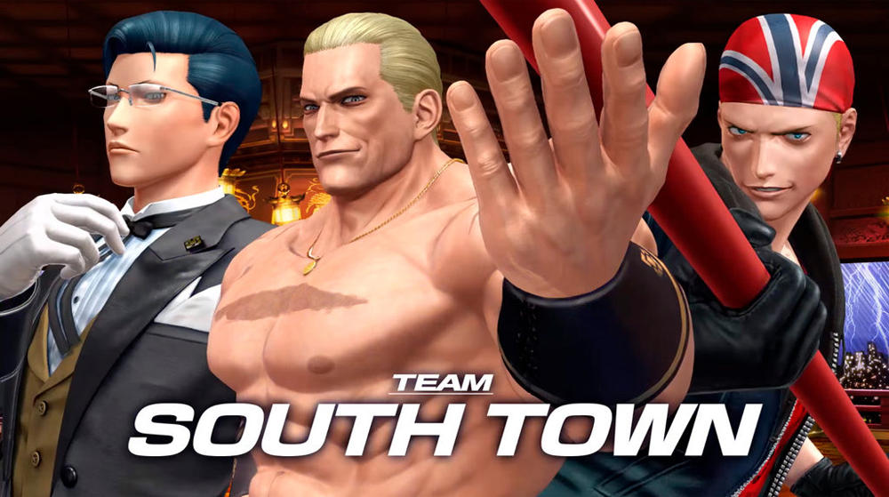 SNK Playmore Introduces King Of Fighters XIV's Team South Town