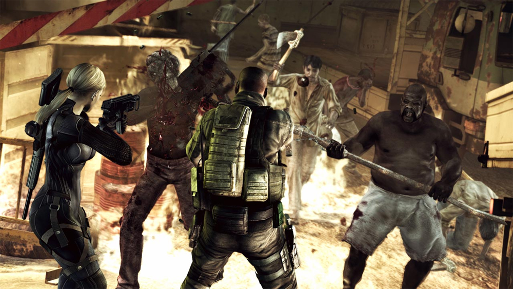 Let's Play: Resident Evil 5 HD Desperate Escape