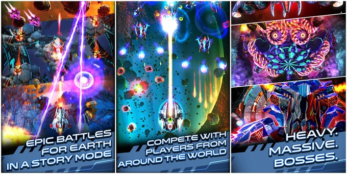 Get Some Bullet Hell Action On iOS With Space Warrior