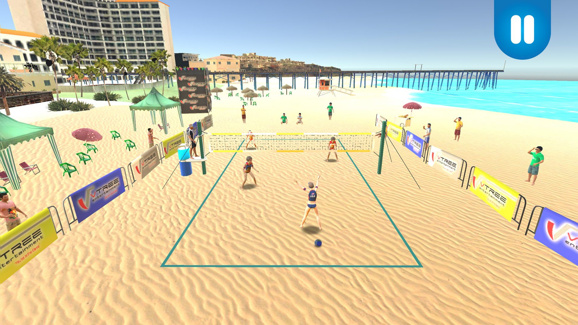 Get Some Volleyball Action On The Go This Summer