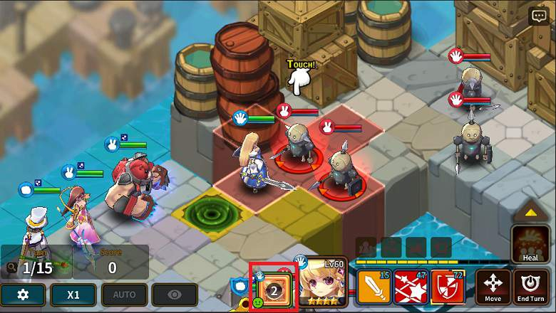 New Mode Added To Fantasy War Tactics
