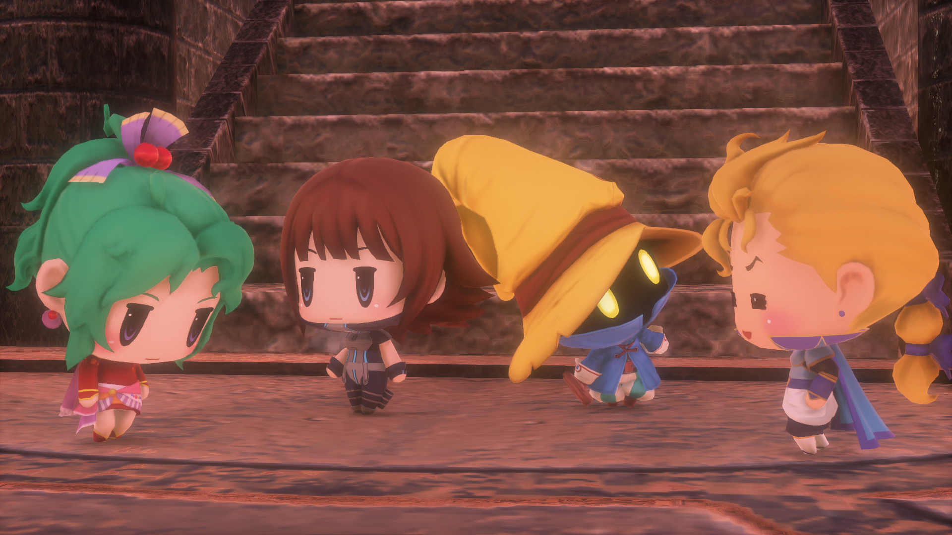 Take A Look At These Beautiful World Of Final Fantasy Screens