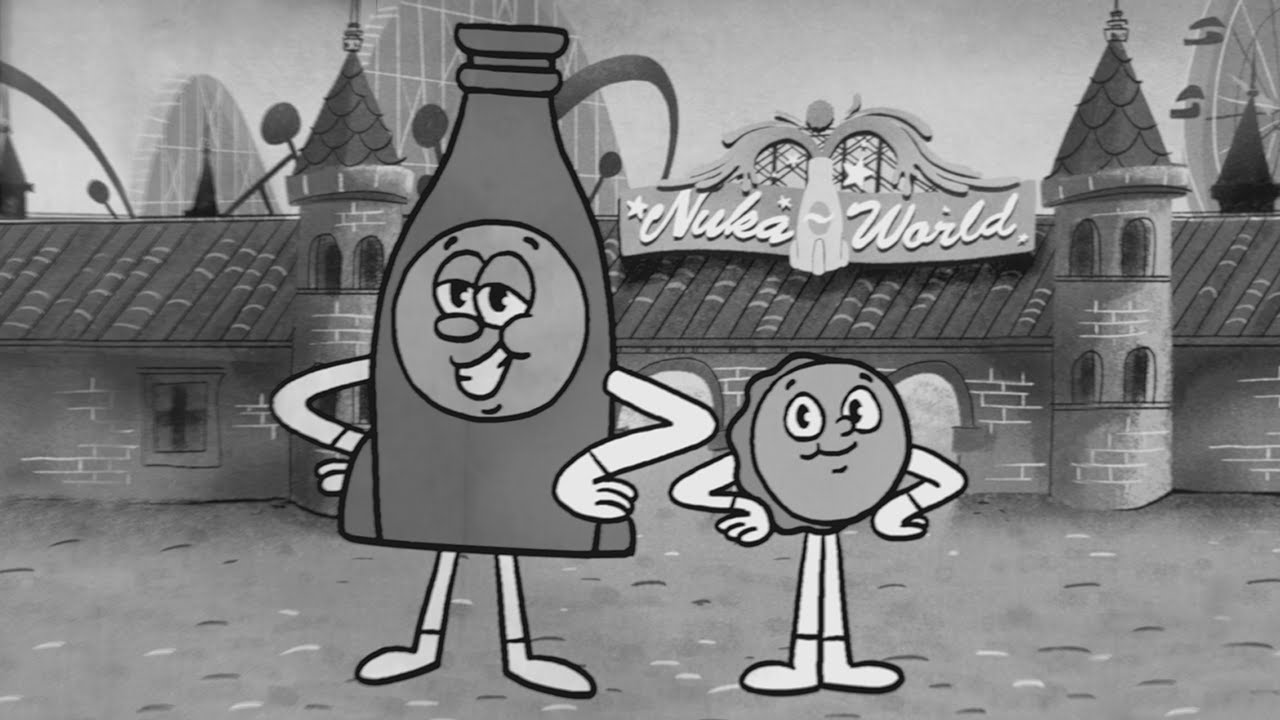 Bottle and Cappy Welcome You to Nuka World in the Latest Fallout 4 DLC Trailer