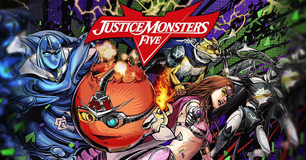 Justice Monsters Five Available Now For iOS and Android