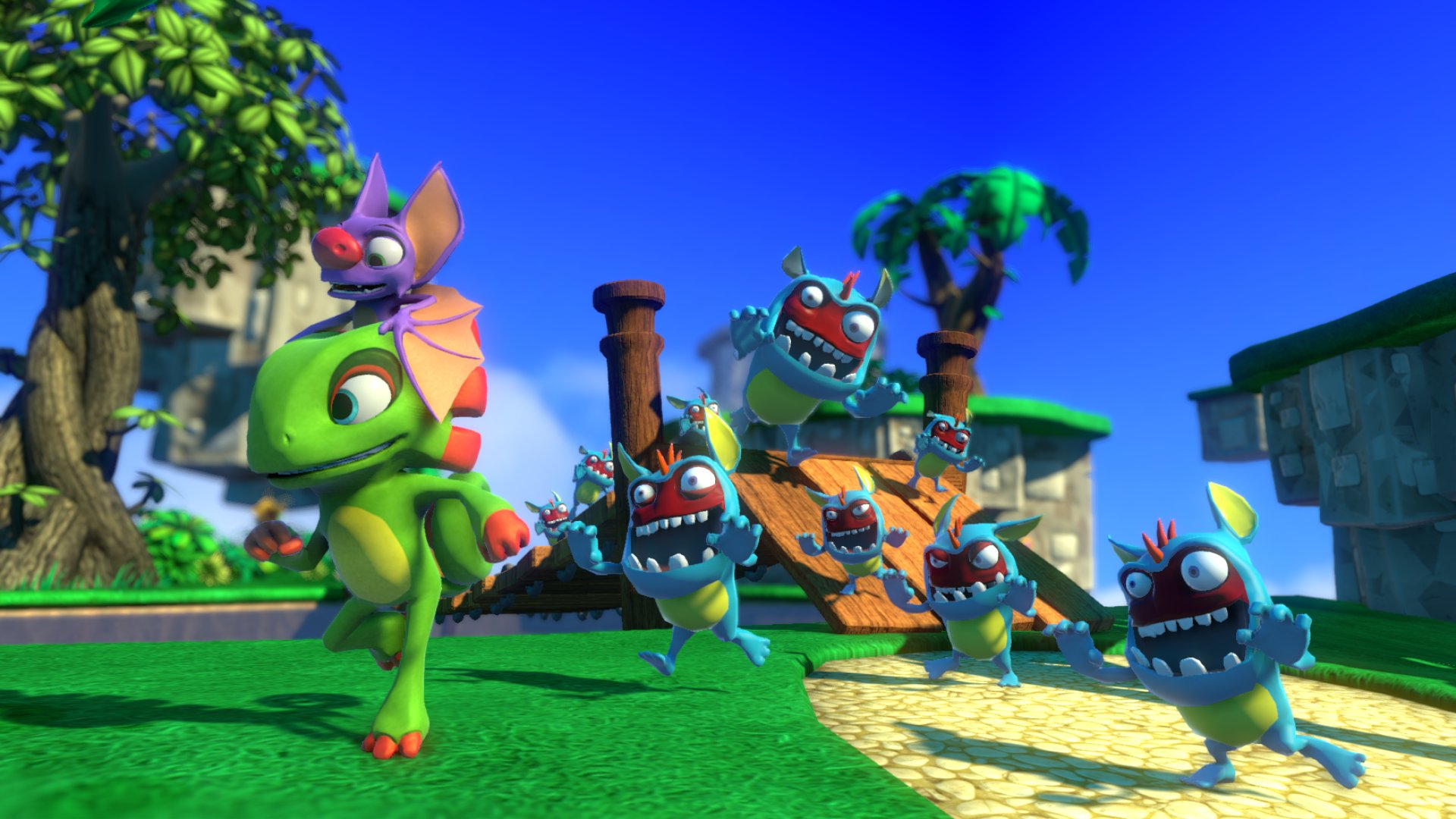 gamescom 2016: Yooka-Laylee rings the platforming nostalgia bells