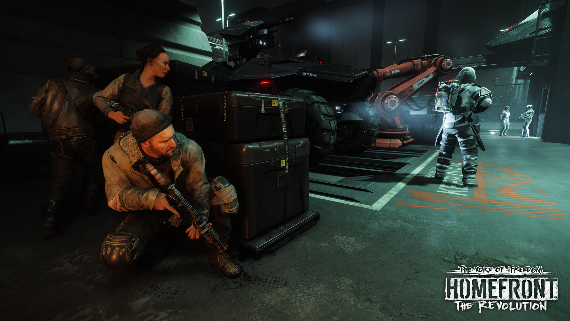 New Single Player Content Gives A Reason For Players To Boot Up Homefront: The Revolution