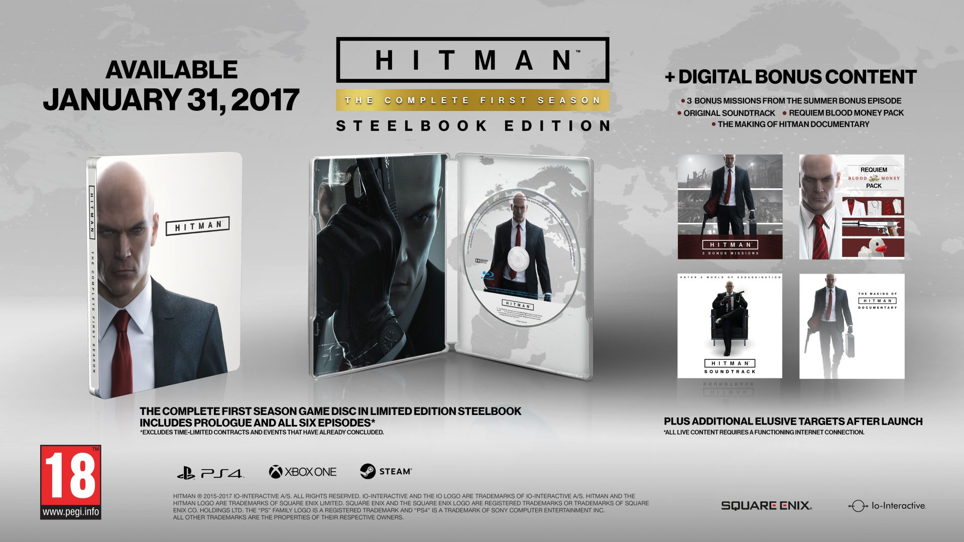 Agent 47 Eyeing January For A Retail Release