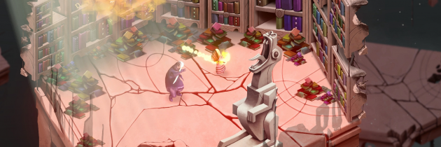 Burn Books and Bash Authors in Quote, A New Action RPG