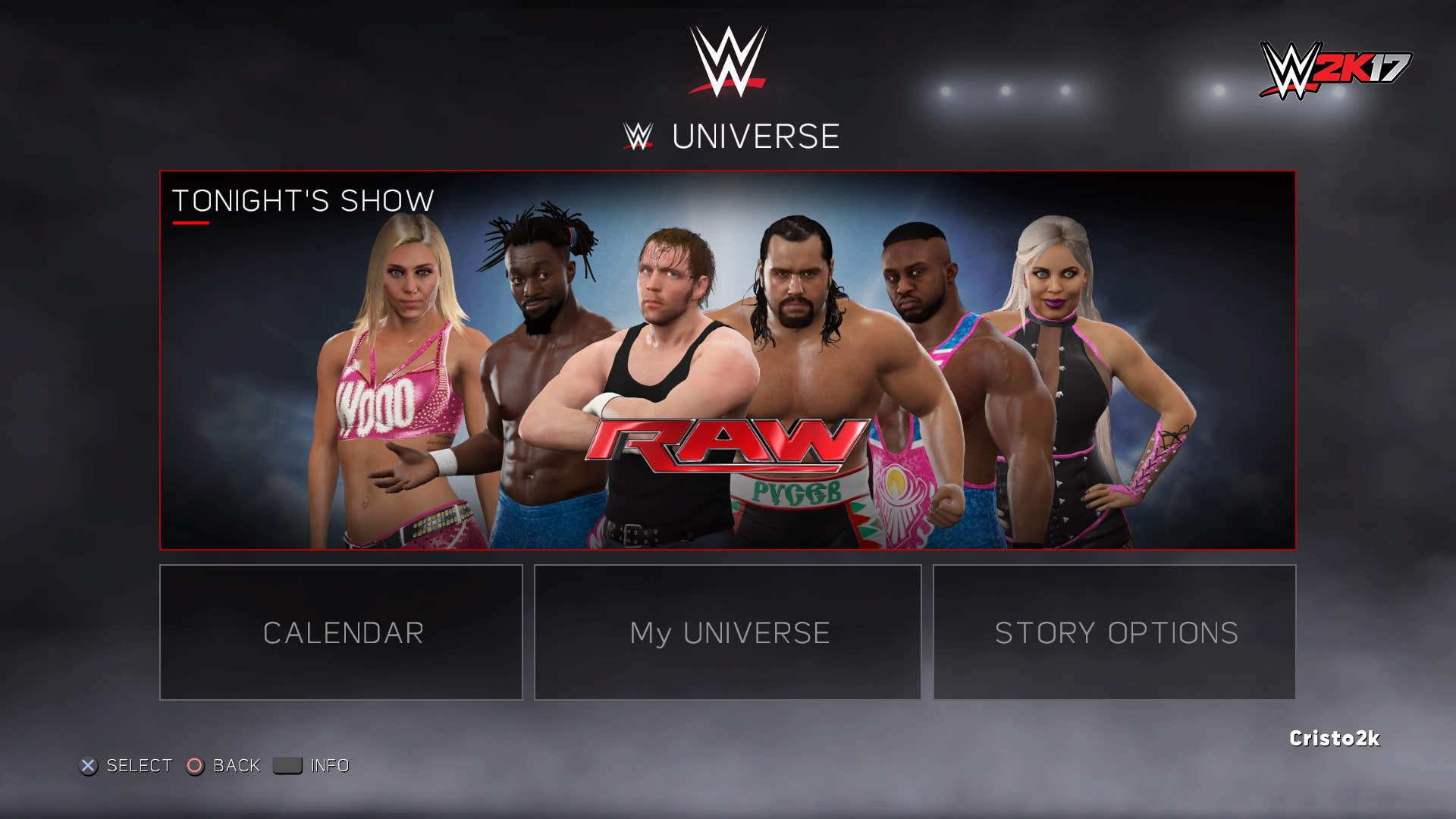 New Details for WWE 2K17's Universe Mode Released