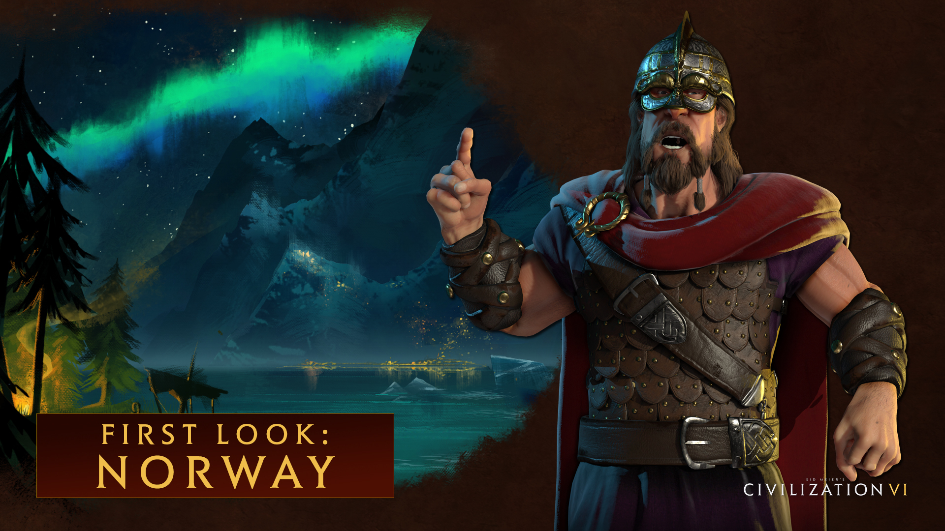Harald Hardrada Leads Norway in Civilization 6