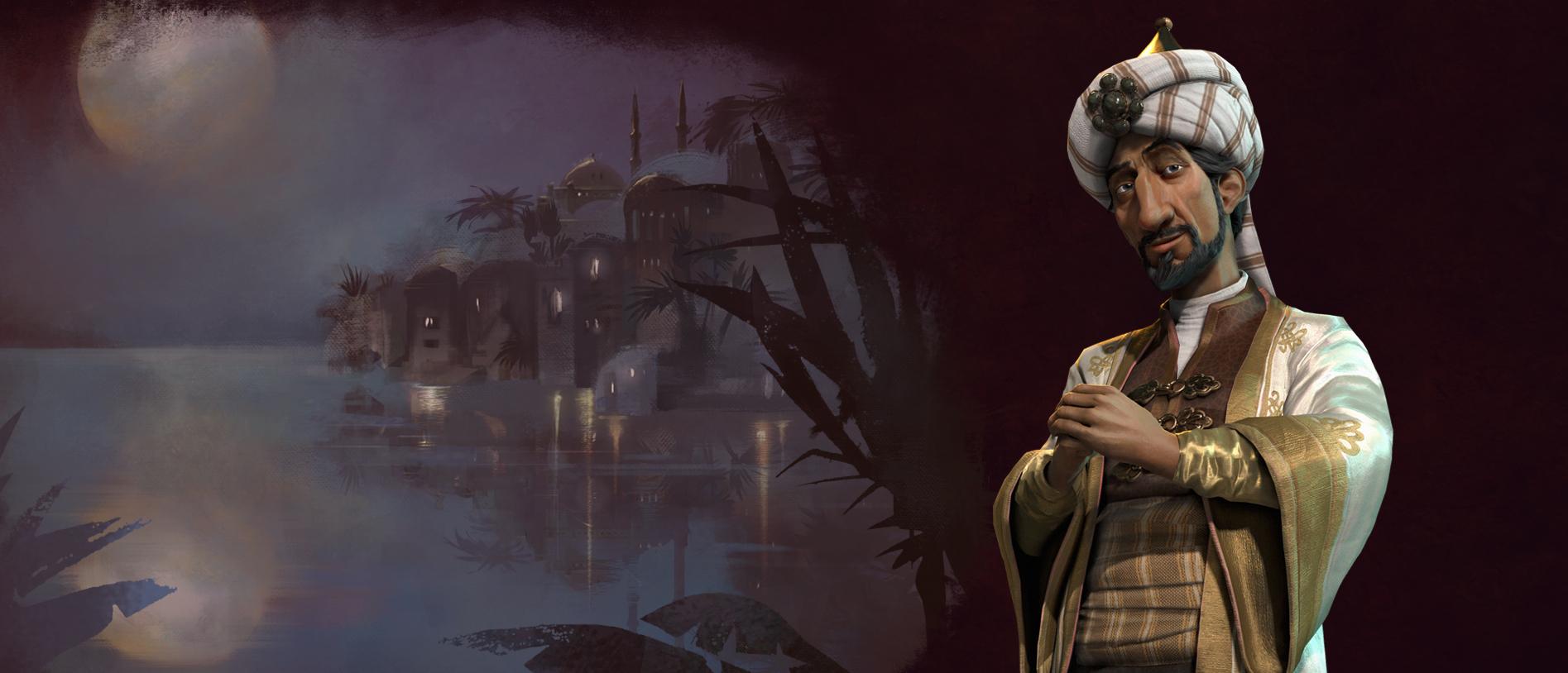 Saladin Leads Arabia in Civilization 6
