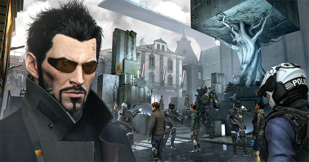 Deus Ex: Mankind Divided's First Post Release DLC Now Available