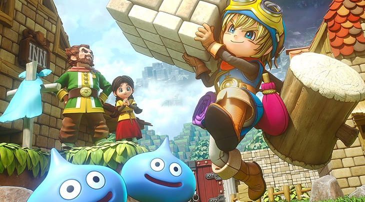 Build To Save The World With Dragon Quest Builders