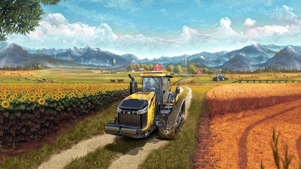 Farming Simulator 17 Gameplay Trailer
