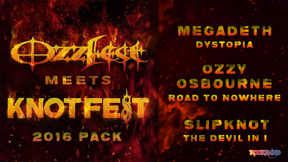 Celebrate OzzFest And KnotFest with Rock Band 4