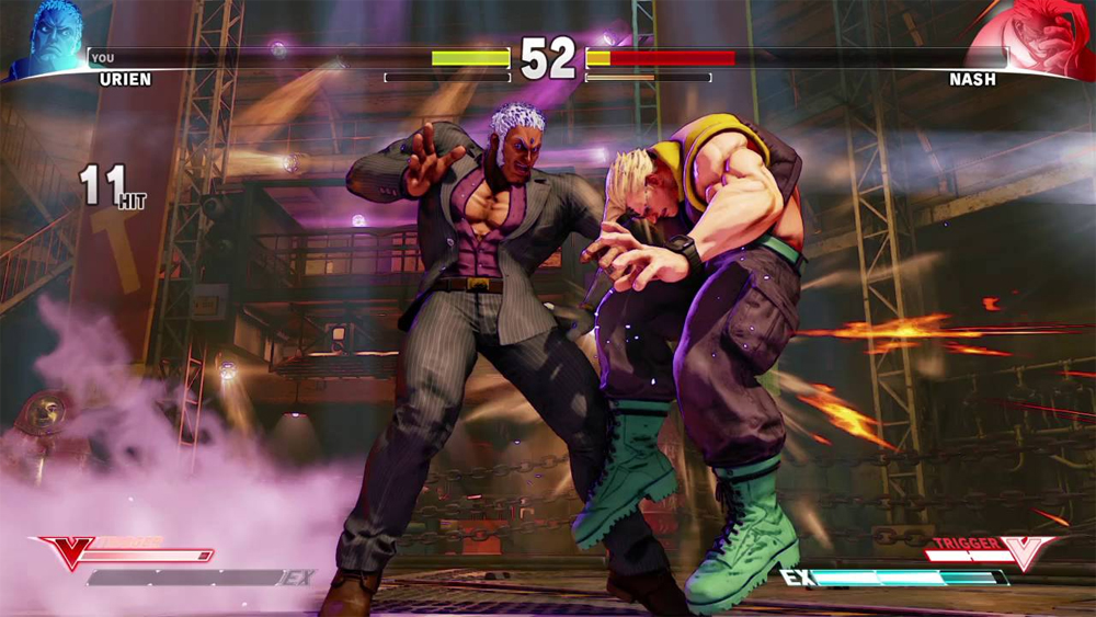 Urien Returns In Street Fighter V Along With A Bevvy Of New Content