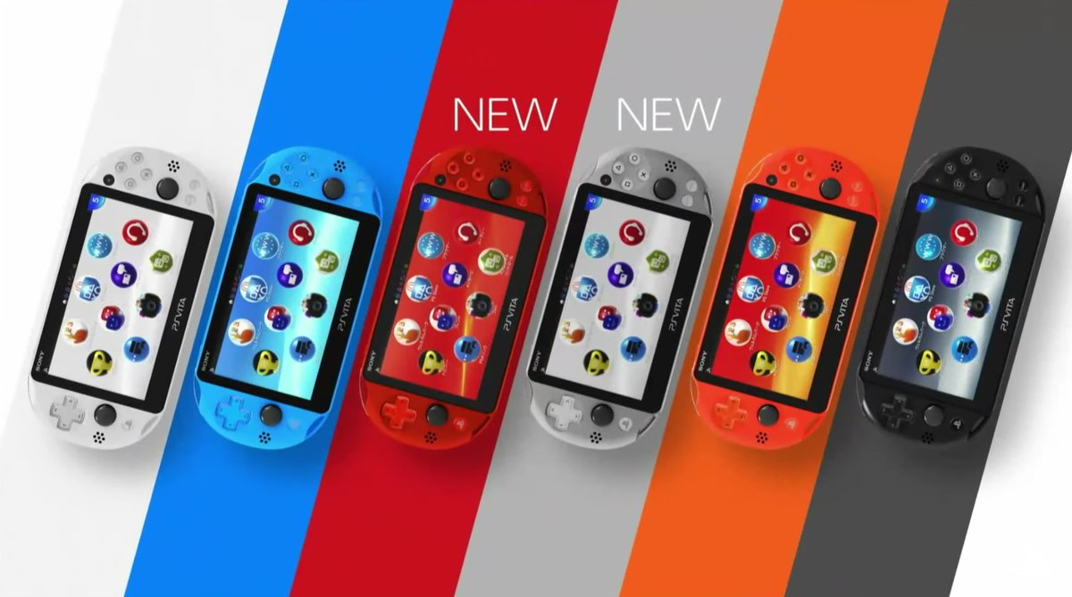 Sony Confirms New Colourful PS Vitas