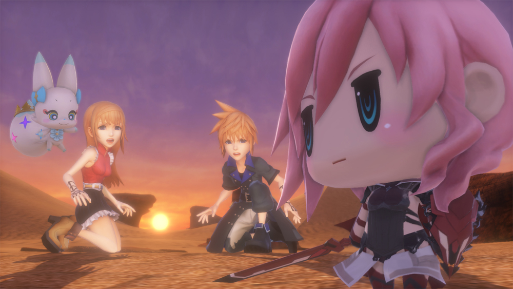 New World Of Final Fantasy Trailer Straight Out Of Tokyo Game Show