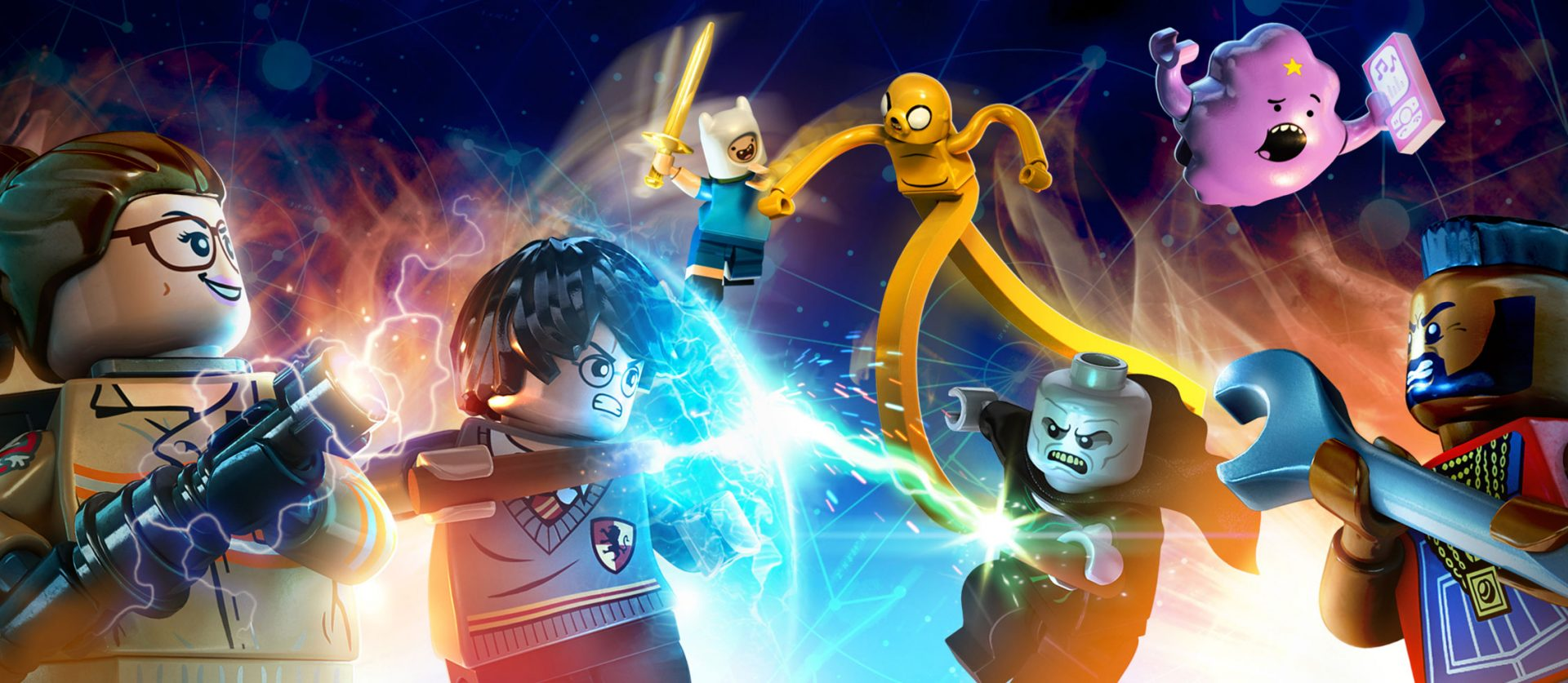 LEGO Dimensions Gets Expansions Based on Ghostbusters, Adventure Time, and More