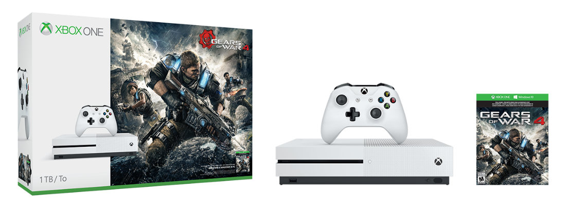 New Xbox One Gears Of War 4 Bundle Announced