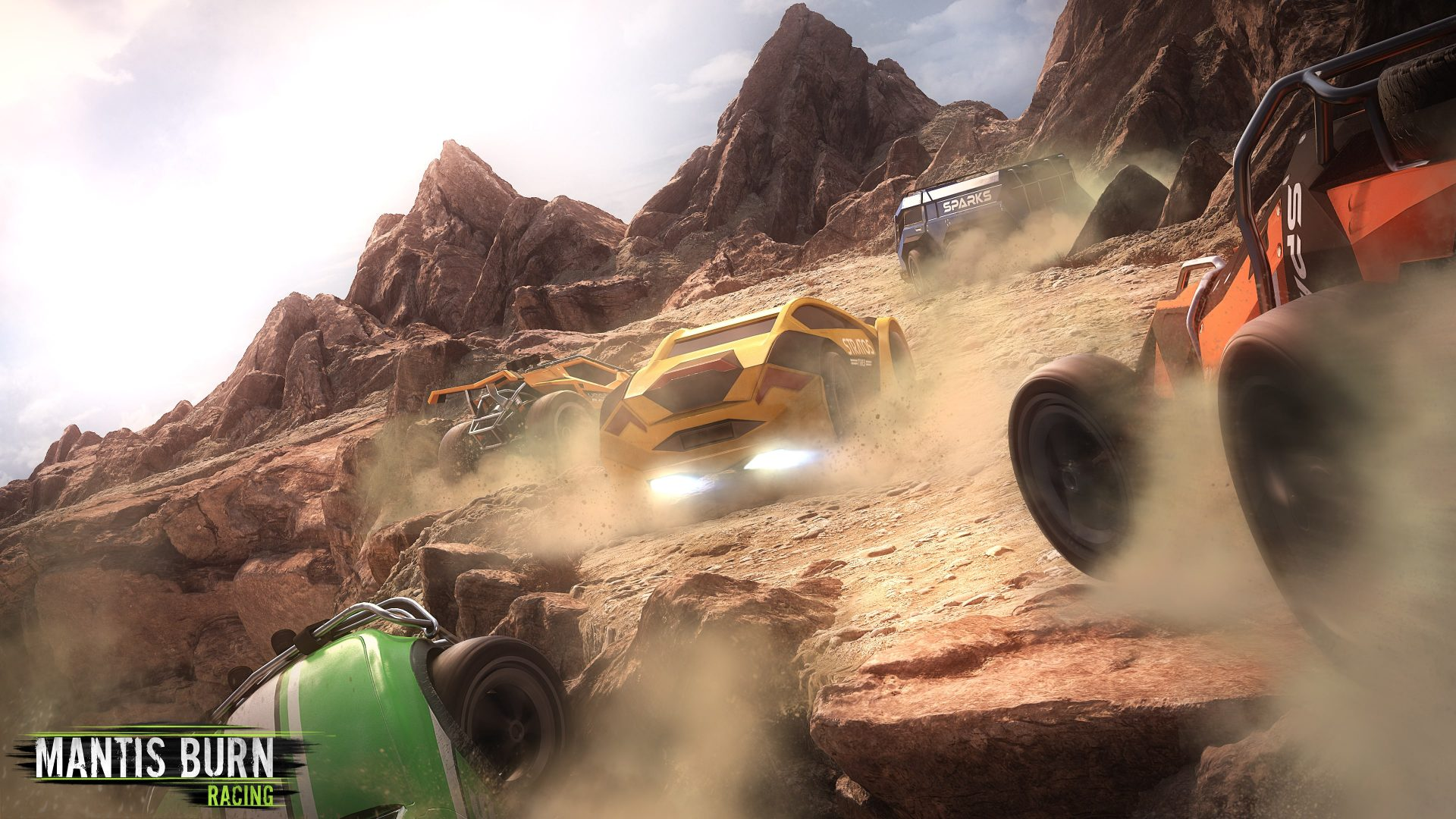 Mantis Burn Racing will Boast 60fps and Cross-Play on Switch