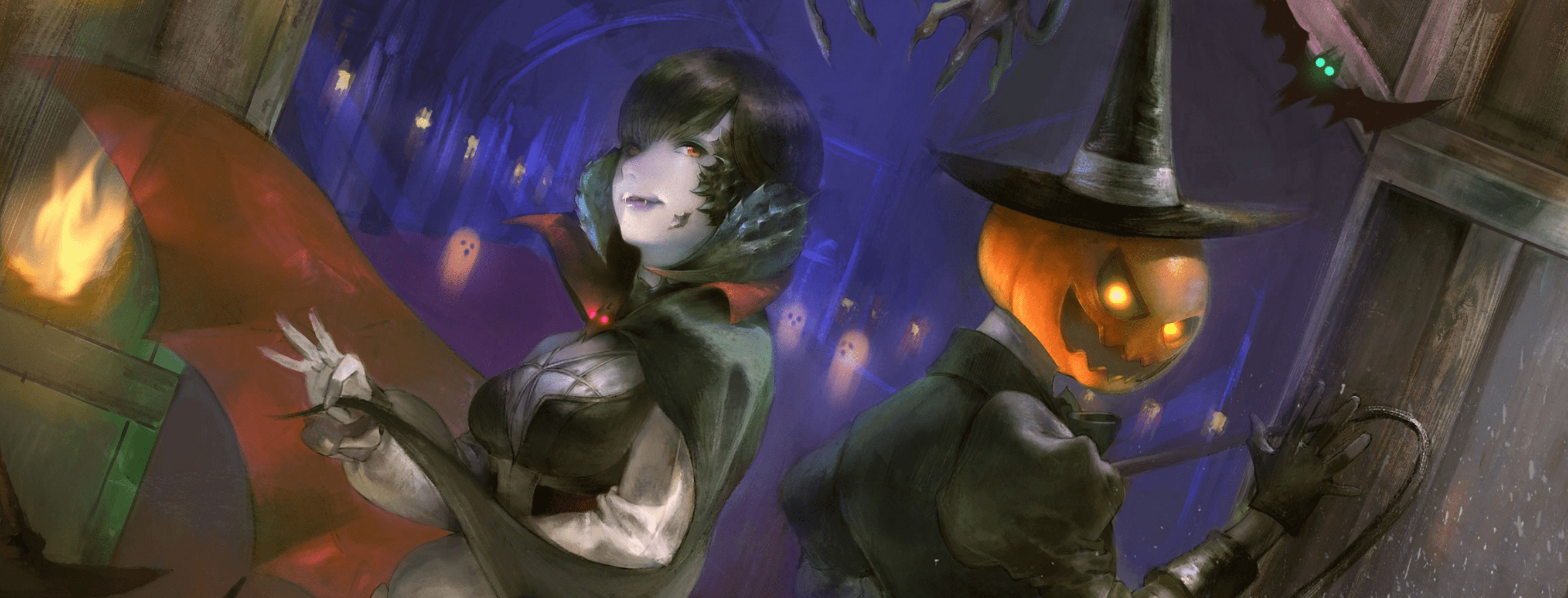 Final Fantasy 14 welcomes in the spooky