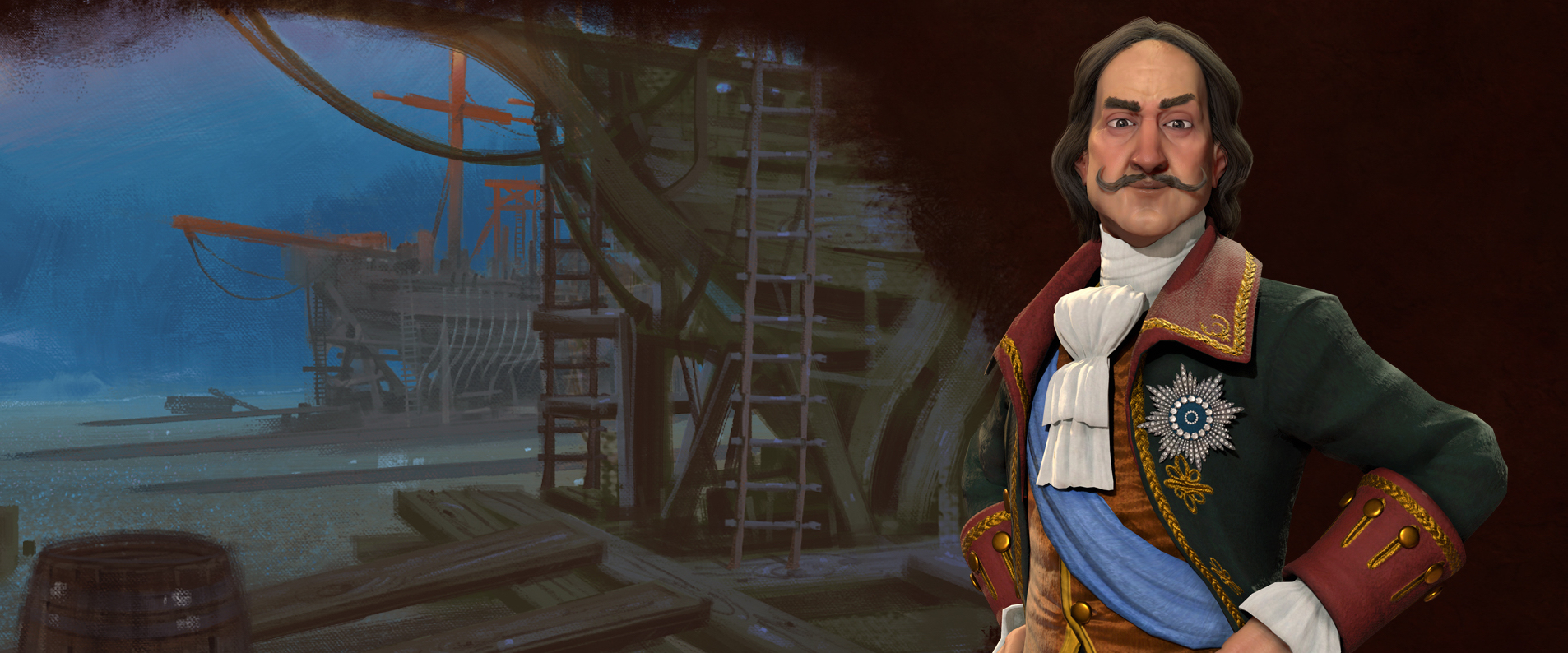Peter the Great Leads Russia in Civilization 6