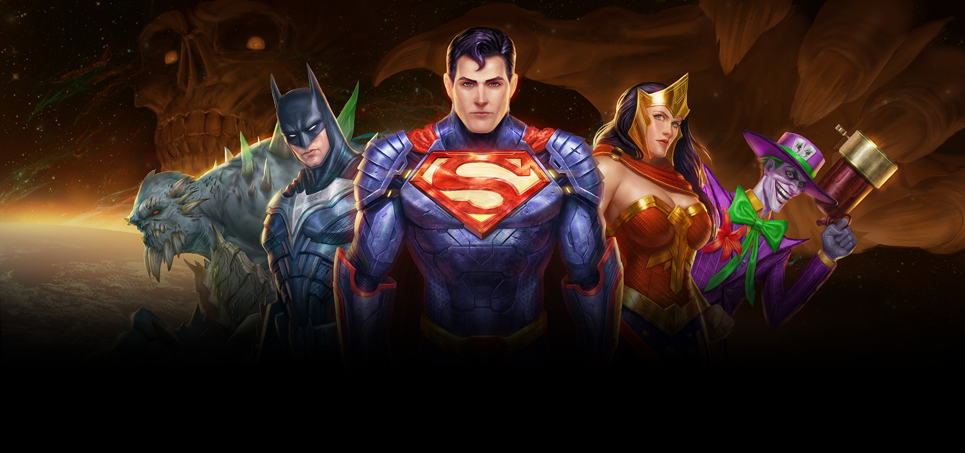 DC Super Heroes and Villains Team Up for the Launch of DC Legends
