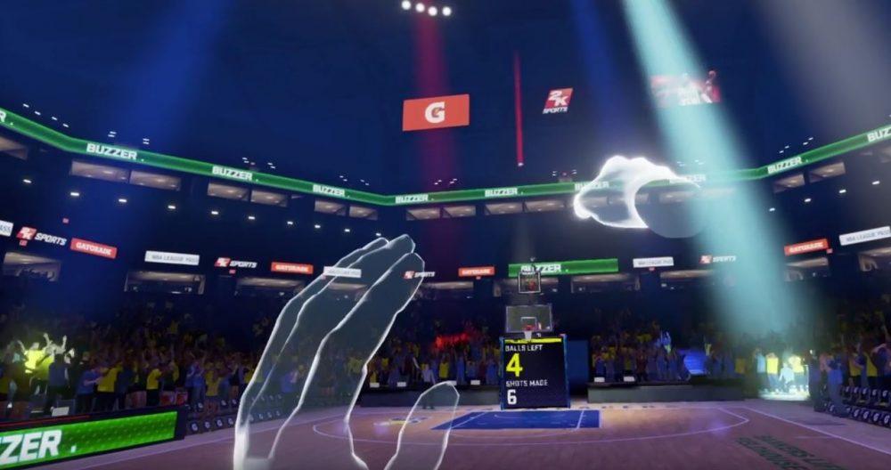 Experience NBA 2K In VR