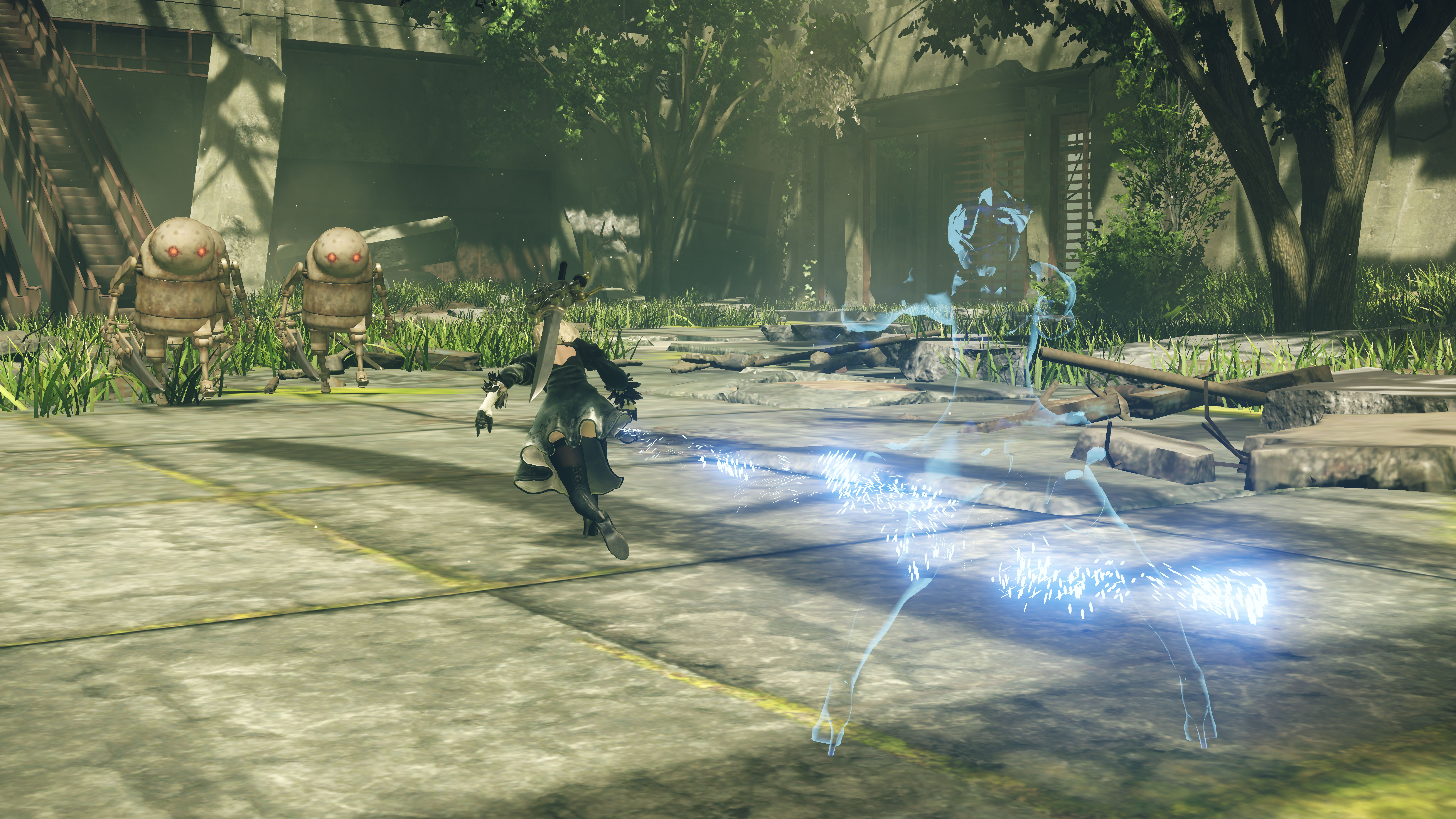 Final Fantasy 15 Engine Blade comes to NieR: Automata