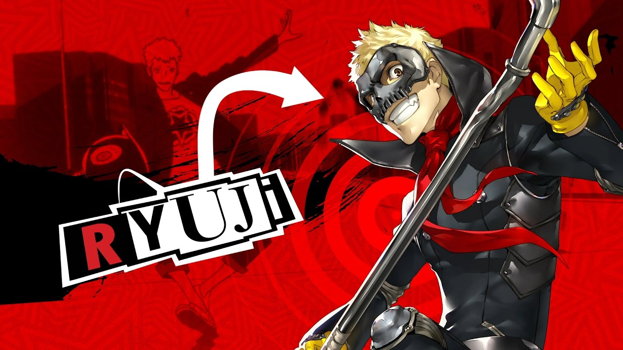 Hot-blooded, Ryuji Sakamoto Dishes Up Justice in the Lastest Persona 5 Trailer