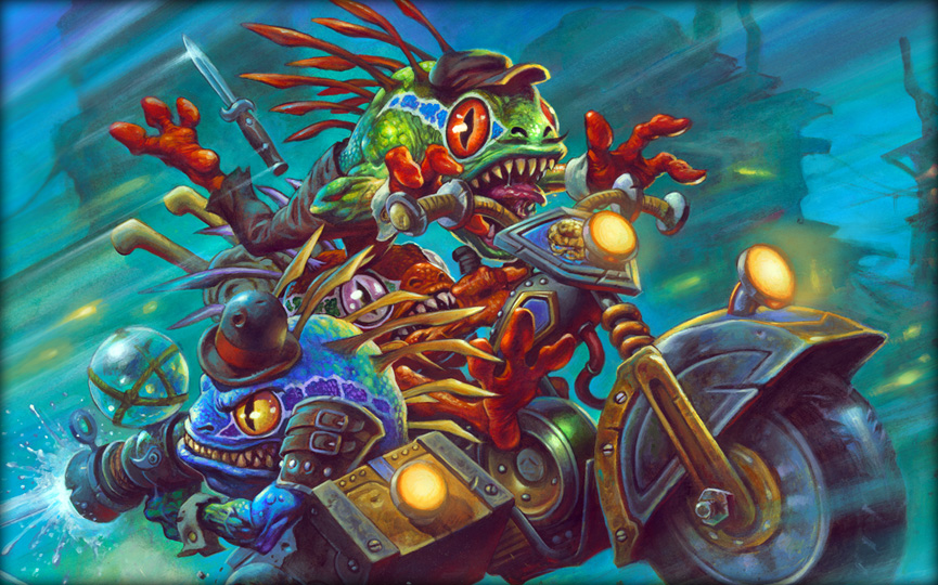 Experience Gadgetzan's Glitz and Grime in the Fourth Expansion for Hearthstone