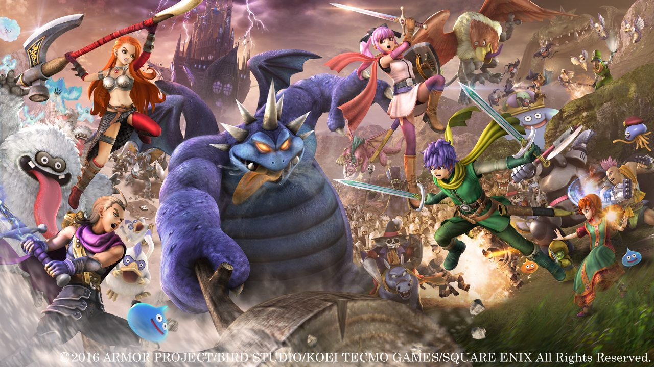 Prepare to Face Hordes of Monsters in Dragon Quest Heroes 2 Coming April 2017