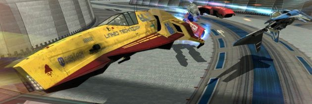 WipEout races on to the PS4!