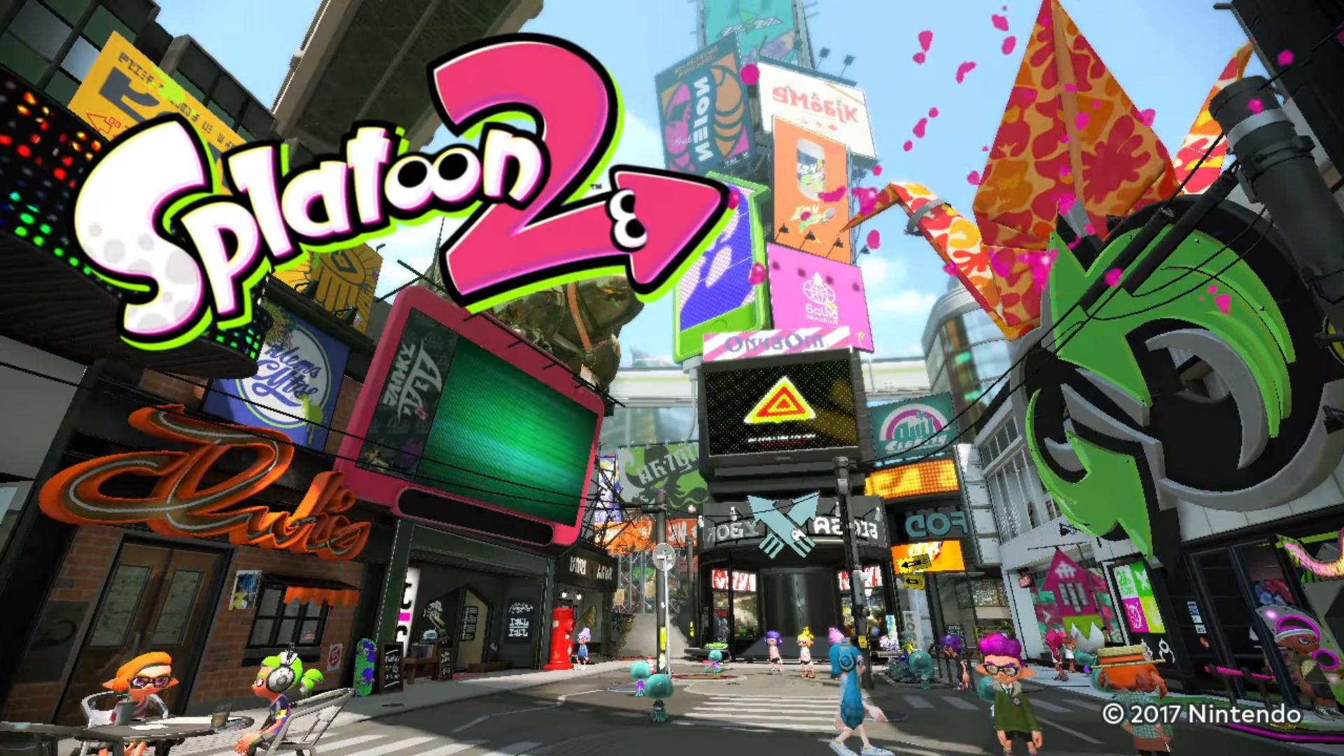 Splatoon 2 Looks Ink-redible in New Gameplay Reveal Trailer