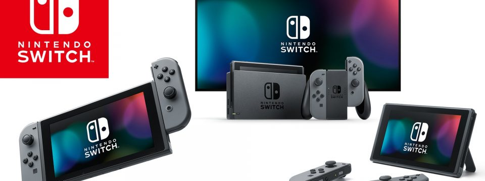 The Nintendo Switch Launches Worldwide March 3rd, 2017