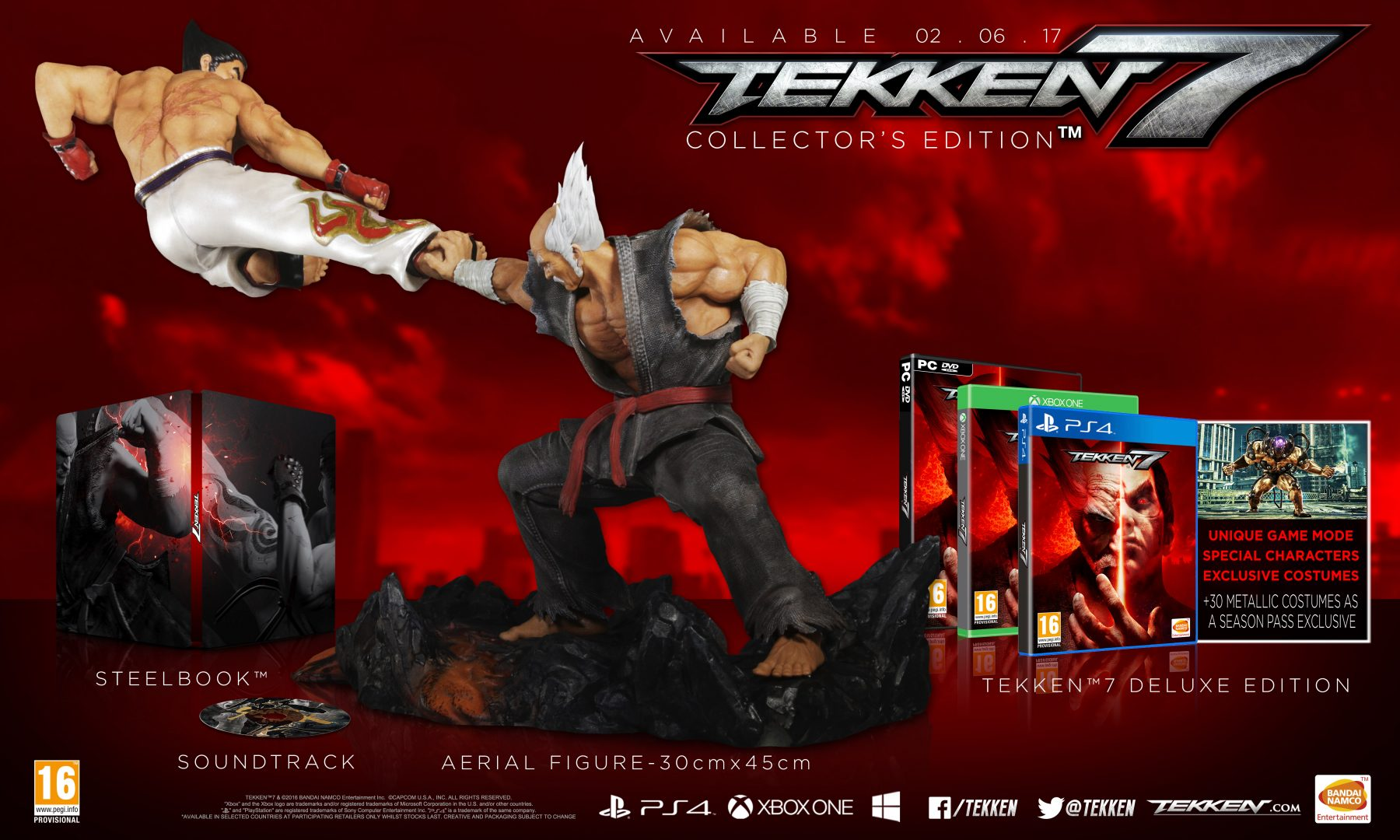 Tekken 7 Punching Its Way To Stores This June