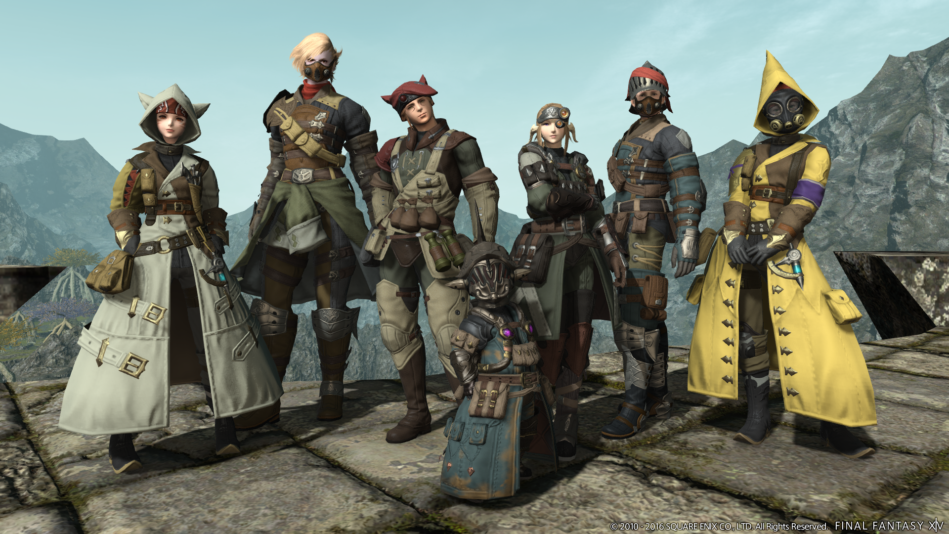 Would You Like To Design Your Own Armour Set For Final Fantasy 14?