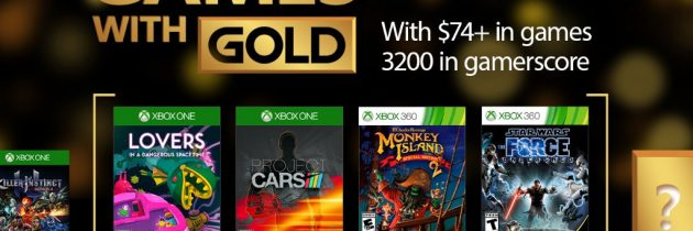 The Force Is Strong With February's Games With Gold