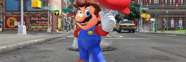 "Nintendo's Super Mario Odyssey will release this ""holiday season"""
