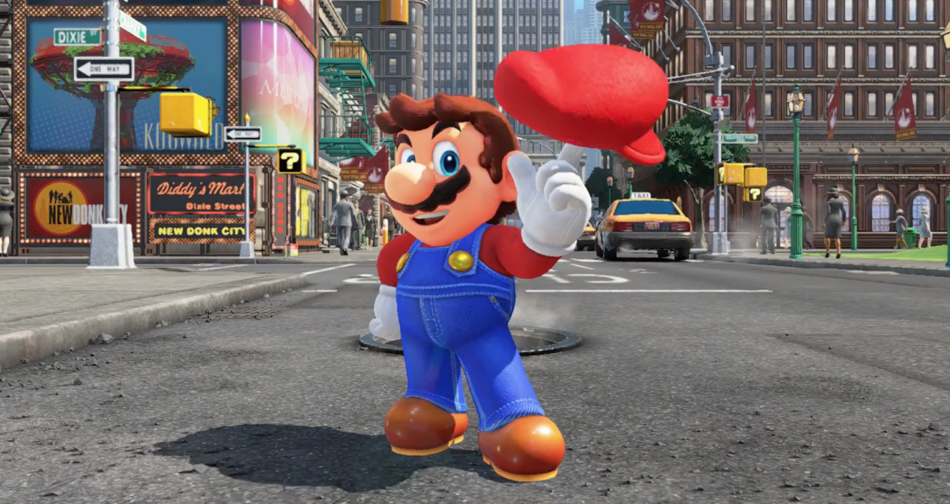 "Nintendo's Super Mario Odyssey will release this ""holiday season"""