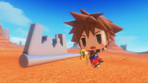 Sora arrives in World of Final Fantasy as free DLC alongside patch 1.02