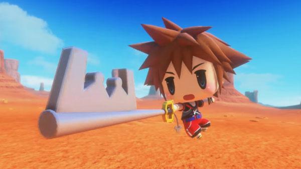 Sora arrives in World of Final Fantasy as free DLC alongside patch 1.02